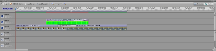 how to get rid of cross dissolve in imovie